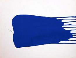 Yves Klein. Monochrome blue 17