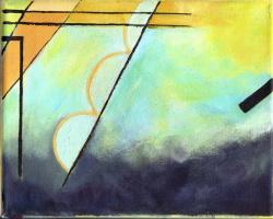 Василий Кандинский. Желтое-красное-синее. Фрагмент