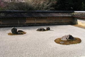 Ни один ни один Со. Реан-дзи и сад камней в Киото
