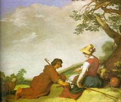 Абрахам Блумарт. Пастух и пастушка