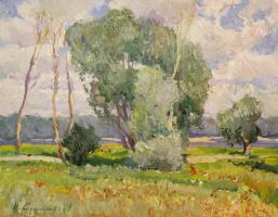 Nikolay Ivanovich Bazylev. Summer landscape