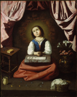 Francisco de Zurbaran. Childhood Of The Virgin Mary