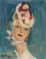 Jean Domerg - Gabriel 1889 - 1962 France. Manon.
