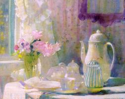 Лаура Кумбс Хиллз. Чайный сервиз