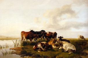 Томас Сидней Купер. Коровы