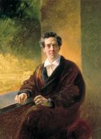 Karl Pavlovich Bryullov. Portrait of count A. A. Perovsky (the writer Anton Pogorelsky)