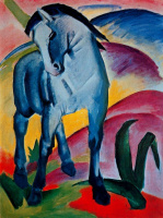 Франц Марк. Синий конь