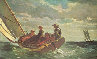 Winslow Homer. Breezes. Gloucester