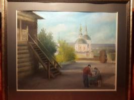 """Белоусов В.П.. """"Прогулка с коляской"""""""