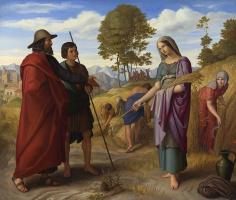Julius shnorr fon Karol'sfel'd. Ruth in the field of Booze