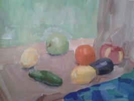 Fruit in still life