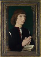 Ганс Мемлинг. Молодой человек молится