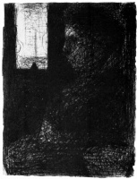 Жорж Сёра. Женщина в вагоне