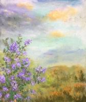 Рита Аркадьевна Бекман. Осенняя сирень в Галилейских горах