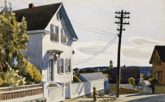 Edward Hopper. The House Of Adam