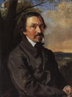 Константин Егорович Маковский. Портрет Н. А. Некрасова