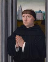 Герард Давид. Августинский монах молится