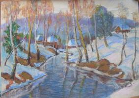 Yosif Josifovich Garani. Winter