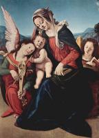 Пьеро ди Козимо. Мадонна и ангел