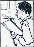 Павел Николаевич Филонов. Живописец. Автопортрет