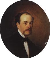 Николай Николаевич Ге. Портрет Г.Н. Ге