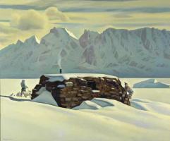 Рокуэлл Кент. Зимний день. Гренландия