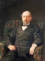 Николай Николаевич Ге. Портрет Н.А. Некрасова
