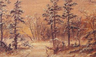 Джаспер Фрэнсис Кропси. Зимний лес