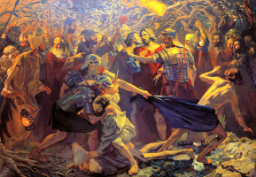Pavel Popov. The taking of Christ into custody