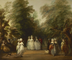 Thomas Gainsborough. A walk in St. James's Park