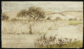 Arthur Rackham. Arun River