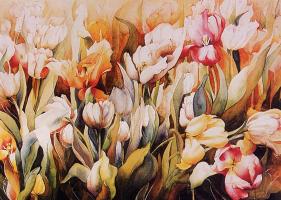 Марта Франсуер. Красивая весна