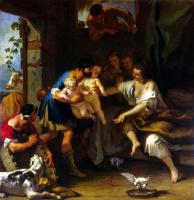 Себастьяно Риччи. Детство Ромула и Рема