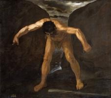 Франсиско де Сурбаран. Геракл отделяет горы Кальпе и Абила