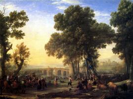 Клод Лоррен. Сельский праздник