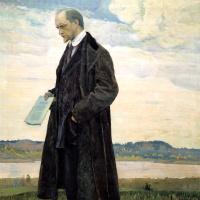 Михаил Васильевич Нестеров. Мыслитель (Портрет философа И.А. Ильина)