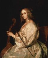 Антонис ван Дейк. Портрет Мари Русвен, жены художника