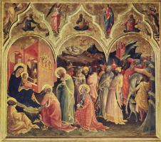 Лоренцо Монако. Поклонение волхвов