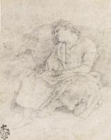 Джованни Бальоне (Баглионе). Спящая женщина