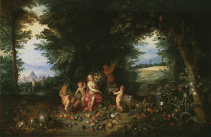 Jan Brueghel the Younger. Landscape with Ceres, or Allegory of the Earth (in collaboration with Hendrick van Balen)