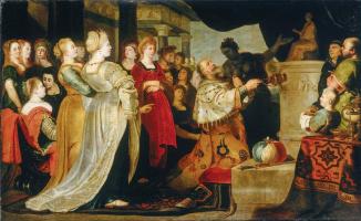 Корнелис де Вос. Идолослужение царя Соломона. 3-я книга Царств