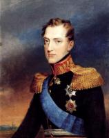 Вильгельм Август Голике. Портрет великого князя Николая Павловича