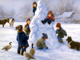 Роберт Данкан. Снежный гигант