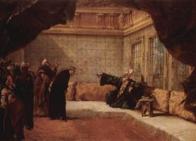 Джованни Антонио Гварди. Аудиенция у султана
