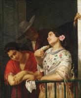 Мэри Кассат. На балконе