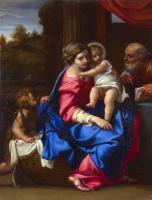 Аннибале Карраччи. Святое семейство с младенцем Иоанном Крестителем