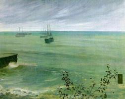 Джеймс Эббот Макнейл Уистлер. Серо-зеленый океан