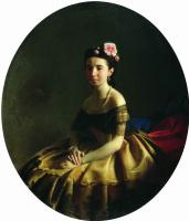 Сергей Константинович Зарянко. Женский портрет (Княгиня К.А. Абаза?)