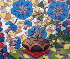 Yuri Vladimirovich Sizonenko. Floral still life in sunlight.