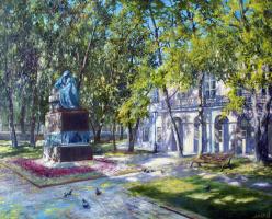 Сергей Владимирович Дорофеев. Sunny public garden